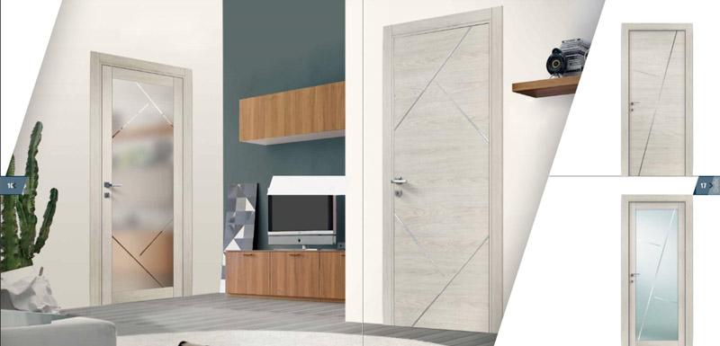Porte interne domus linea foggia arredamento - Maniglie per porte interne classiche ...